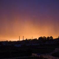 Огненный закат :: Александр Россихин