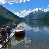 Первое Мультинское озеро :: Nina Streapan