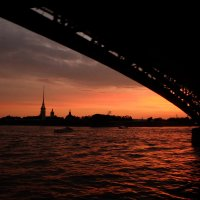 Вечер на Неве :: Алексей Афанасьев