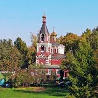 Храм великомученицы Параскевы Пятницы в Качалове :: Евгений Кочуров