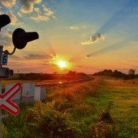 Утро на переезде :: Сергей Шаталов