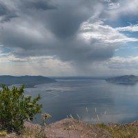 Енисей. Вид с горы Тепсей. :: Евгений Герасименко