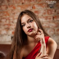 Lady in red :: Анна Чуйкова