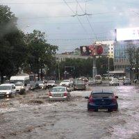 Дождь в Уфе. :: Ильсияр Шакирова