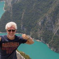 я и пропасть.)) Над каньоном р.Пива,север Черногории :: Олег Семенов