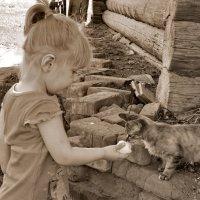 На, ешь кыса моё яичко :: Светлана Рябова-Шатунова