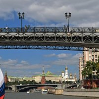 Пешеходный Патриарший мост (2004) :: Татьяна Помогалова