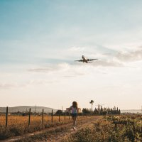 На встречу солнцу и самолету) :: Дмитрий Г.