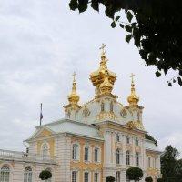 Дворцовая церковь Петергофа :: Ольга