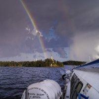 Прощание с островом Валаам. :: Александр Белый