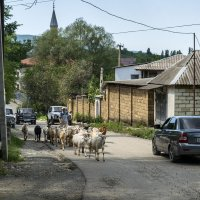 По главной улице села :: Игорь Кузьмин