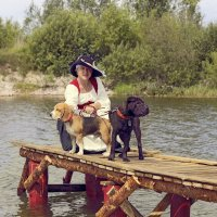 Дама с собачками :: Тата Казакова