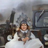 тракторная фея :: Елена Круглова