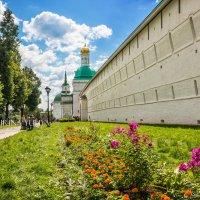 Цветы у Лавры :: Юлия Батурина