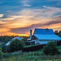 Один из прекрасных вечеров лета :: Андрей Гриничев