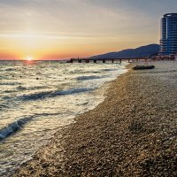 Вечер на пляже. :: Олег Бабурин