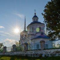 Поселок Орел. Церковь Похвалы Пресвятой Богородицы (1735) :: Александр Янкин