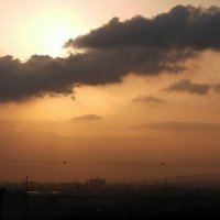 Солнце за облаком. :: Валерьян Запорожченко
