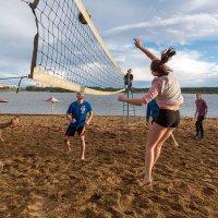 Пляжный волейбол :: Александр Силинский