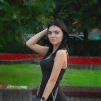 На бульваре. :: Александр Бабаев