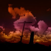 Cross in the clouds :: Max Kenzory Experimental Photographer