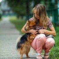 Дама с собачкой! :: Паша