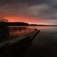 Закат на Селигере :: Yury Mironov