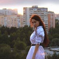 На закате :: Мария Вишнева
