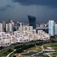 Гроза над Москвой :: Valeriy(Валерий) Сергиенко