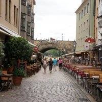 Городские кафе. Дрезден :: Алёна Савина
