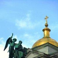 Исаакиевский собор.Фрагмент :: Сергей Карачин