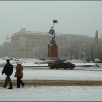 Волгоград  зимой. :: Юрий ГУКОВЪ