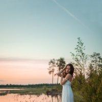 Пекрасная Залина в лучах заката. :: Екатерина Миколайчук