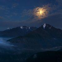 Лунная ночь в горах :: Владимир Сковородников