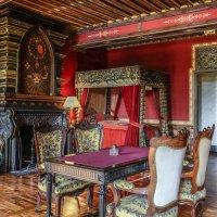 Спальня с рабочим кабинетом замка Ла Бреде-Монтескье (La Brede Montesquieu) :: Георгий