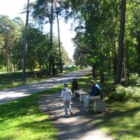 Прогулка в парке :: Владислав Плюснин