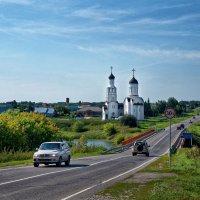 Бурмистрово, Новосибирская область. Дорога в Караканский бор :: Дмитрий Конев
