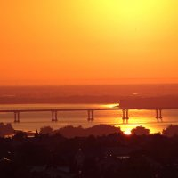 Рассвет над городом :: Мishka 298