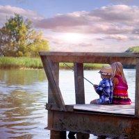 На рыбалке :: Наталия Ефремова