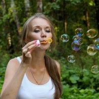 Мыльные пузыри :: Андрей