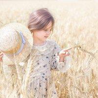 Пшеничная стрекоза! :: Татьяна Полянская