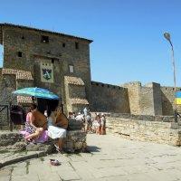 У центрального входа в Аккерманскую крепость :: Тамара Бедай