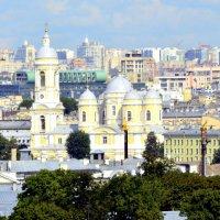 Вид на город с колоннады Исаакиевского собора  9 :: Сергей