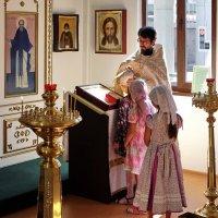 Дети в Храме. Исповедь. :: Геннадий Александрович