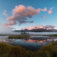 Рассвет на озере Джангысколь :: KotoPalych Gf