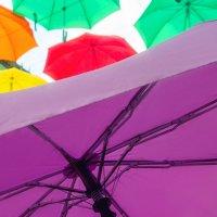 Зонтики на Соляном переулке :: Людмила Волдыкова