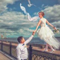 Летающая невеста. :: Алексей Хаустов