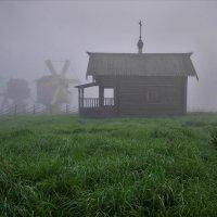 Деревня - музей Семенково.Туманное утро. :: Валерий Талашов