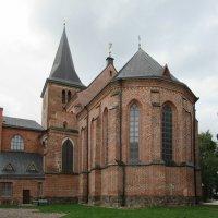 Главная церковь Тарту — церковь св. Иоанна (она же Яановская церковь) :: Елена Павлова (Смолова)