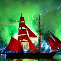 Алые паруса 2018 :: Андрей Байков